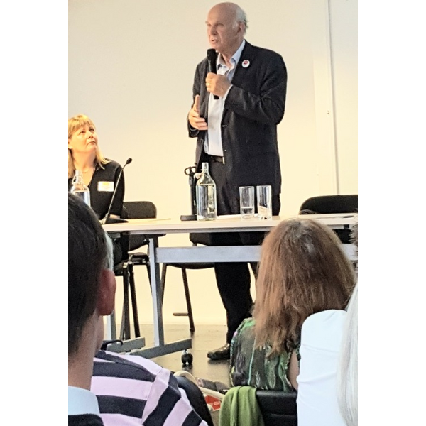 Vince Speaking in London June 2017