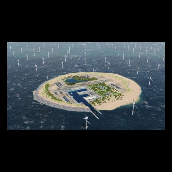 North Sea Island (Energinet Dk)