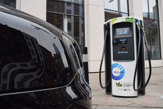 Charge Point Expansion London (Pic from Chargemaster plc)