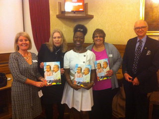 Floella Benjamin at the Early Years report launch