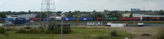 Train Moving off Bacon Factory Chord