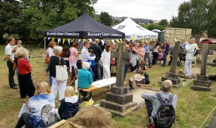 Rectory Lane Cemetery Restoration