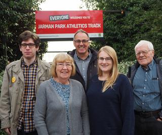 Dacorum Athletics Track
