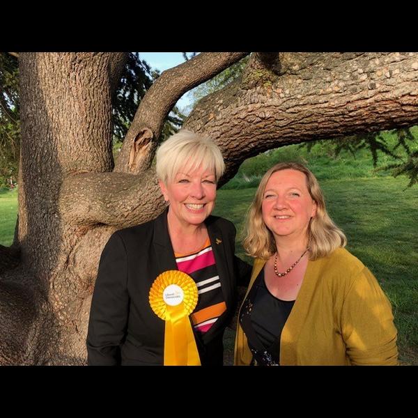 Barbara Gibson and Lucy Netsingha Tree